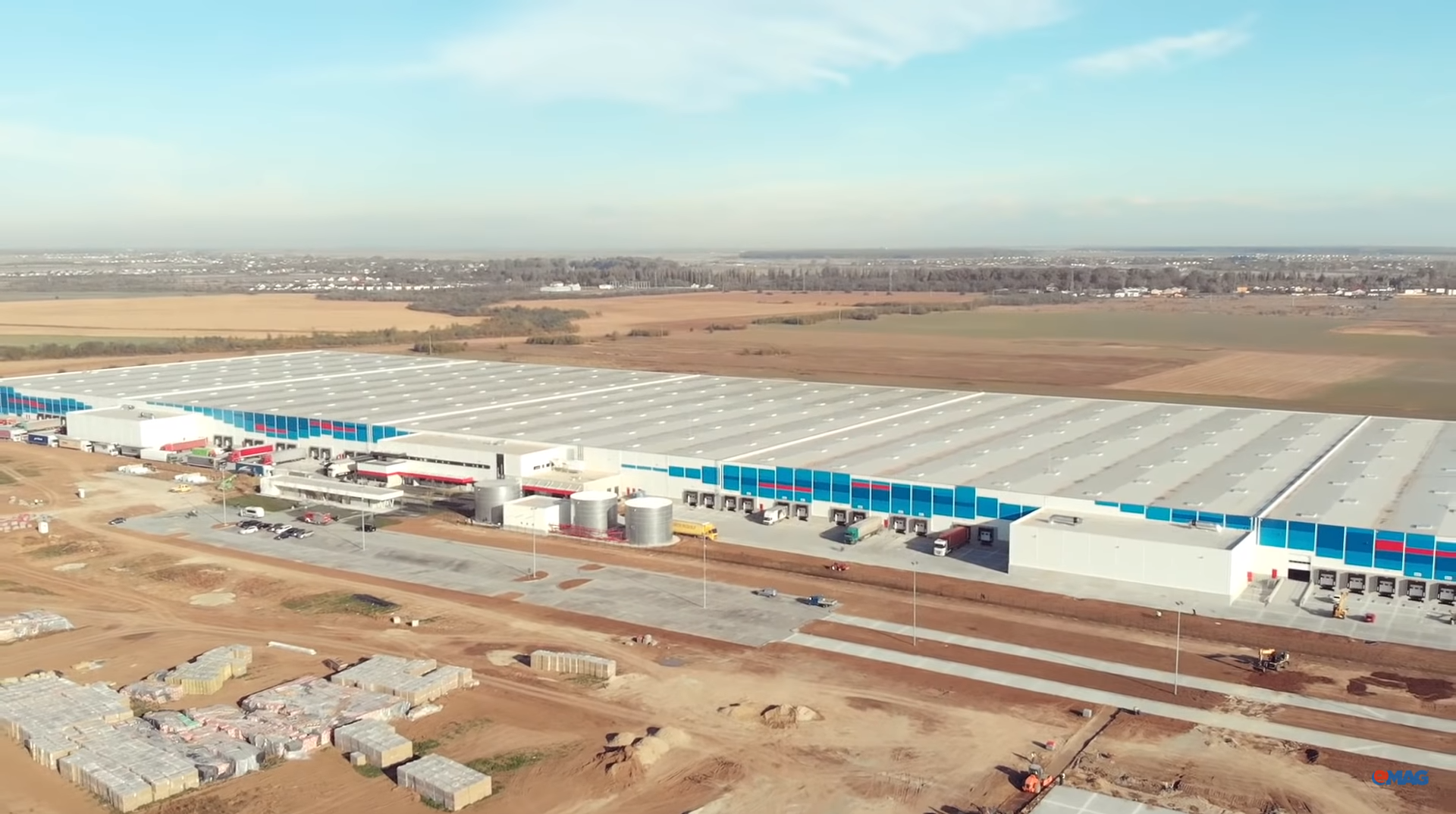 New 127,000 sq.m. eMAG Warehouse finalised